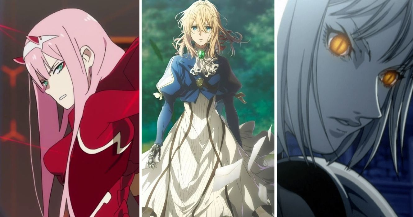 8 Great Anime Featuring Strong Female Protagonists  ScreenRant
