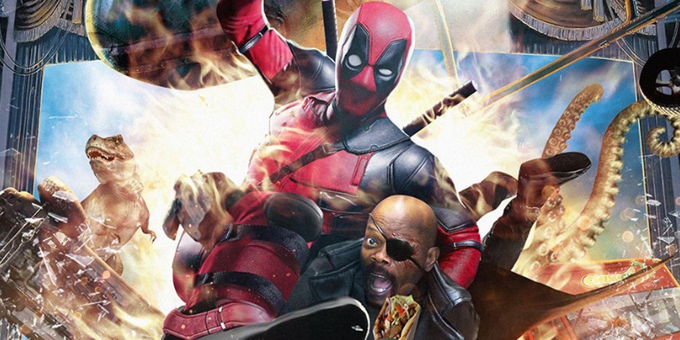 Hitman's Bodyguard Posters Featuring Deadpool & Nick Fury