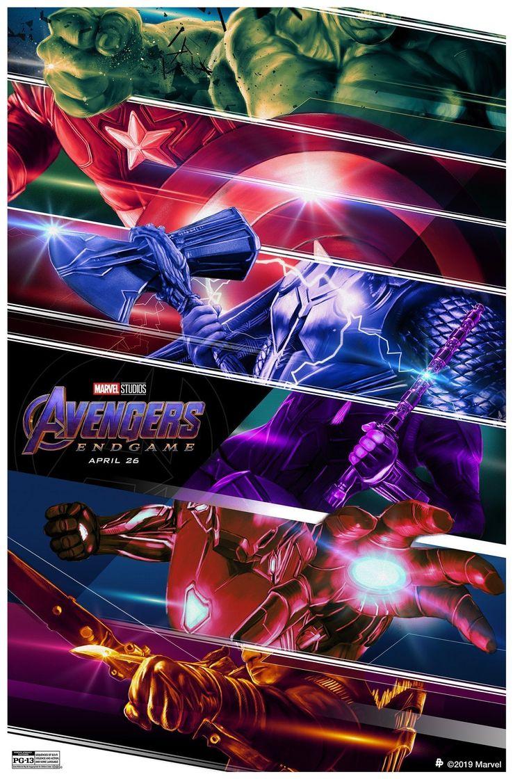 Stunning New Endgame Poster Spotlights Original Six Avengers