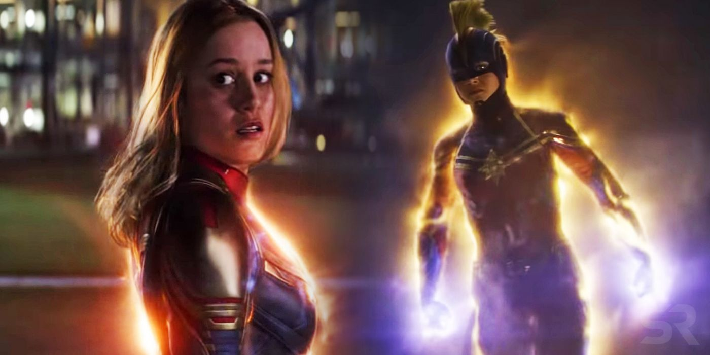 Captain Marvel's Endgame Suit Was CGI Because Marvel Changed Their Minds