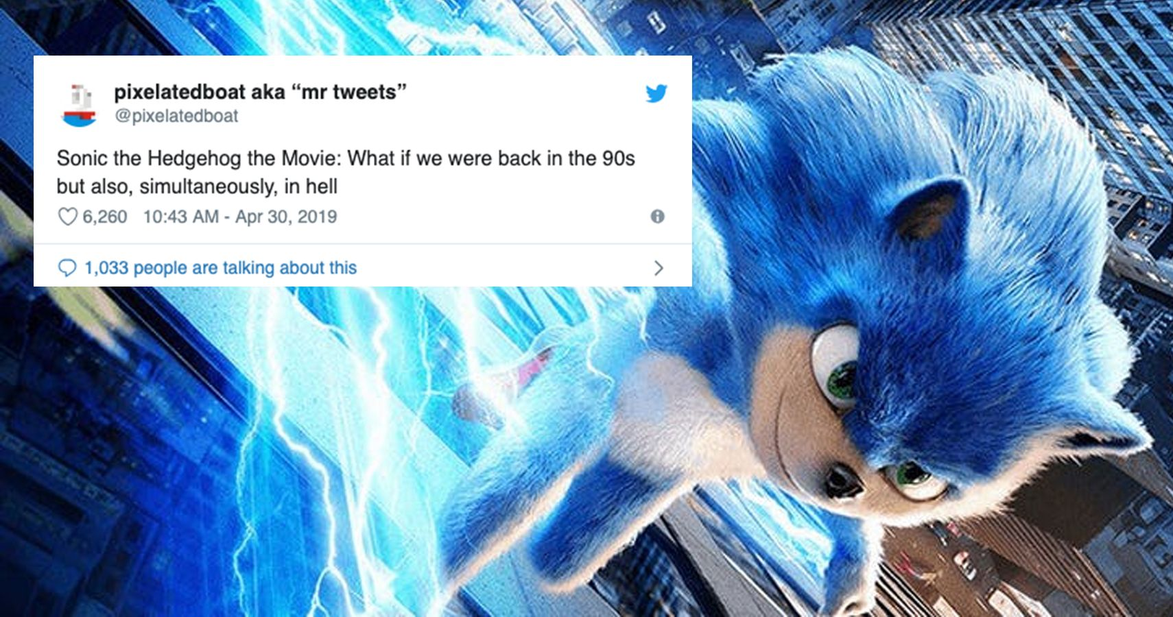 10 Hilarious Reactions To The Sonic Movie Trailer Screenrant