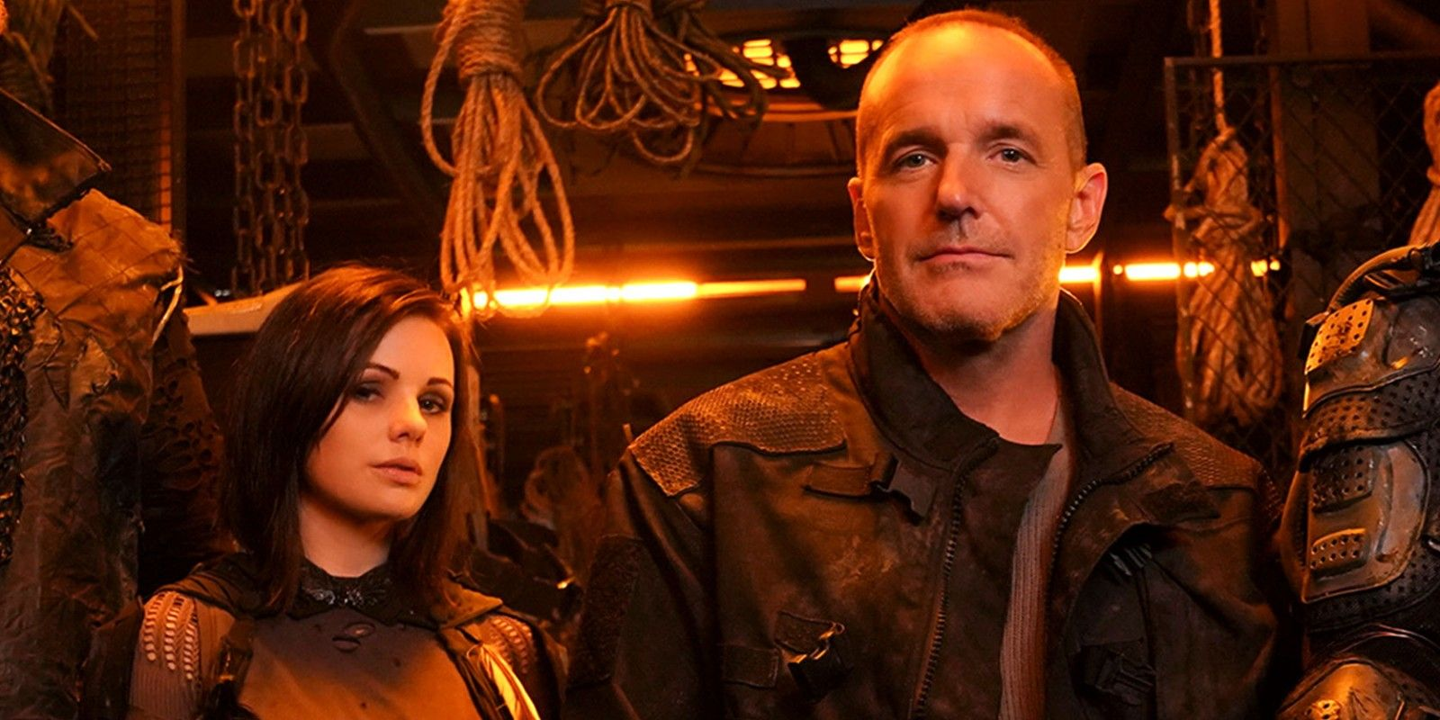 Sarge As Phil Coulson's Doppelganger