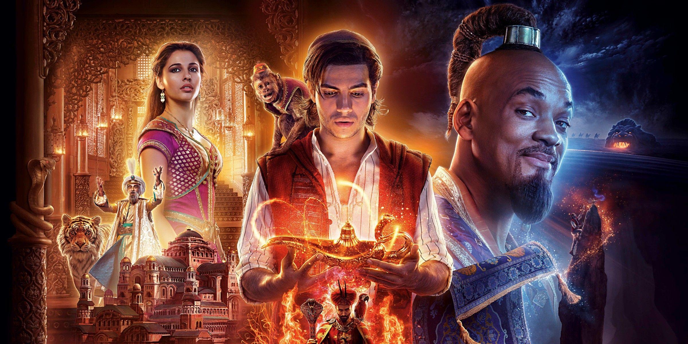 Aladdin 2019 movie review screen rant - Aladdin 2019 poster ...