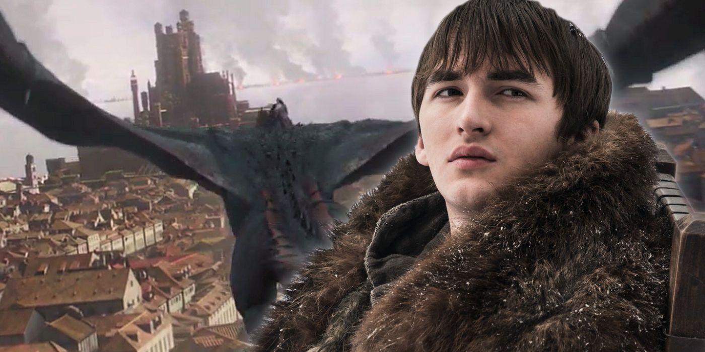 Bran and Drogon