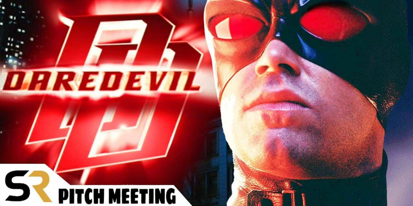 Daredevil 2003 Pitch Meeting Screen Rant