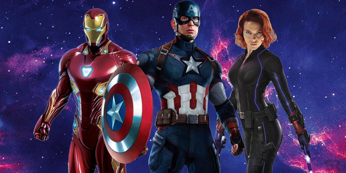 Iron Man Captain America Black Widow Get Fan Made