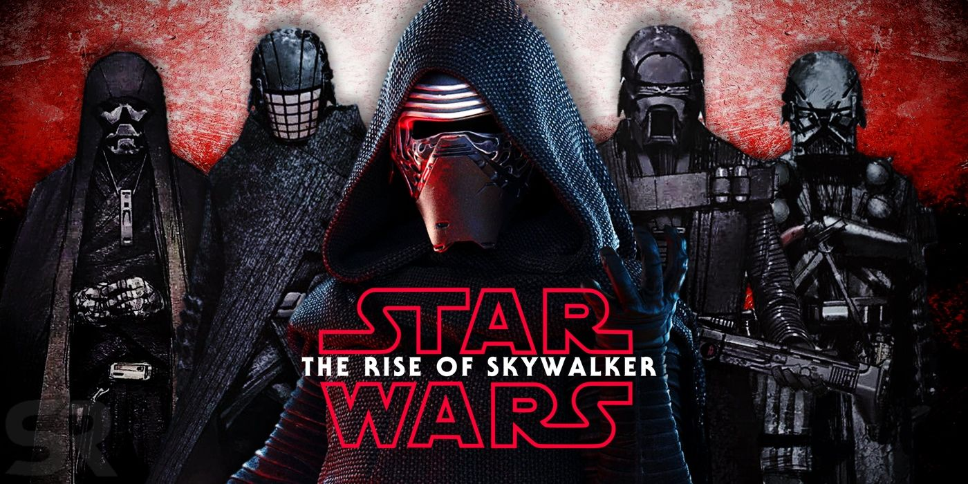 Star Wars 9: Get a Good Look at a Knight of Ren