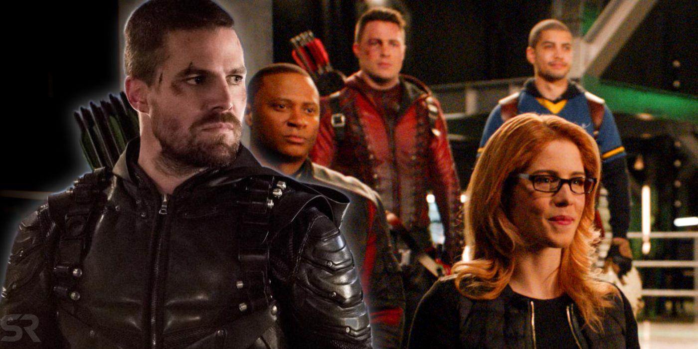 Arrow Confirms Oliver Queen's Death In Season 8   Screen Rant