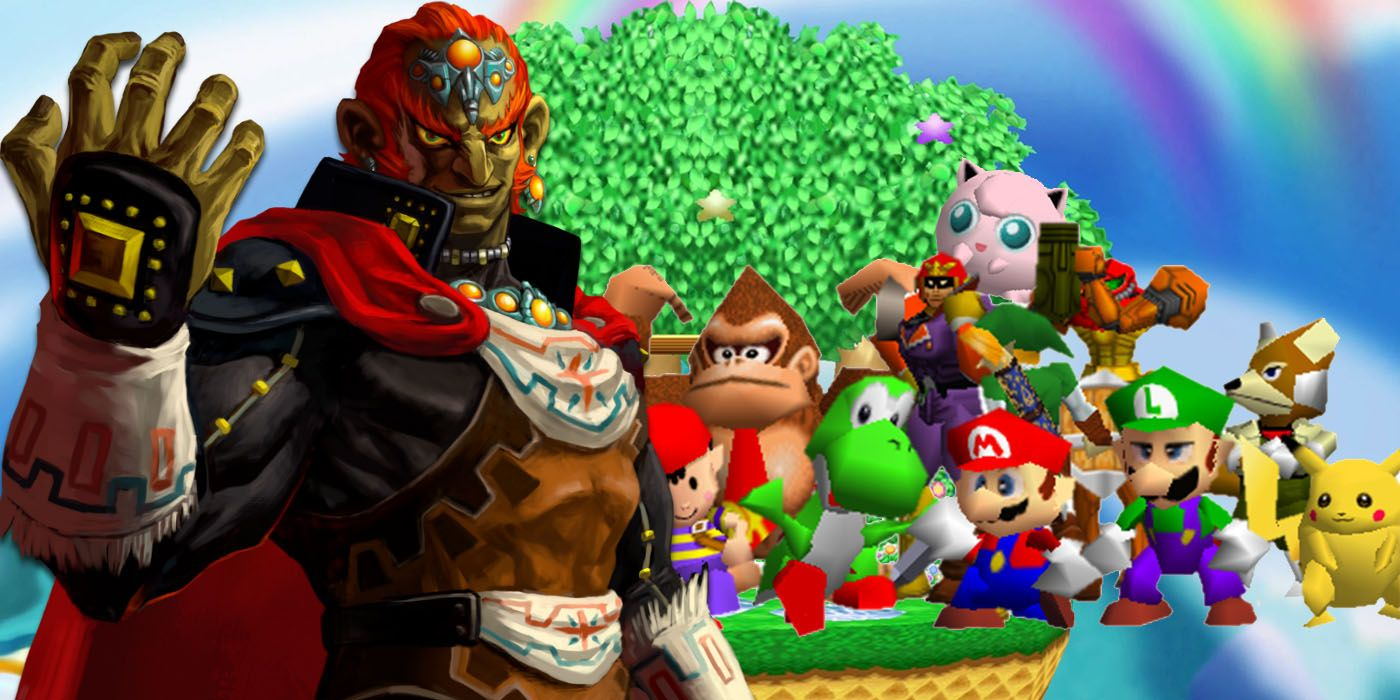 New Super Smash Bros 64 Hack Adds Ganondorf To Roster