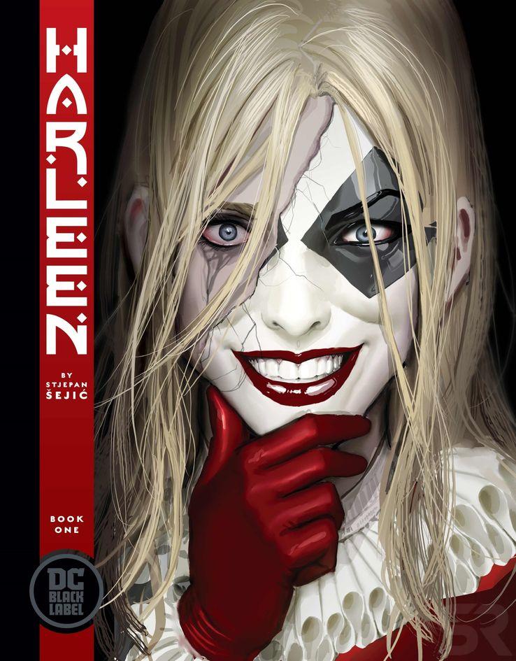 Comics : Harleen Harleen-DC-Black-Label-Cover