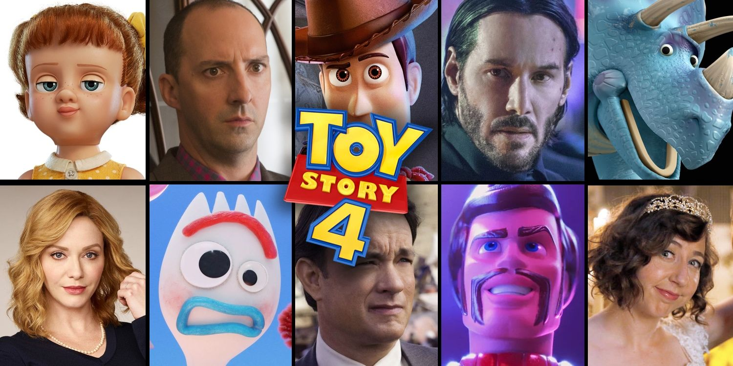 Toy Story 4 Voice Cast Character Guide Where You Know The Actors From