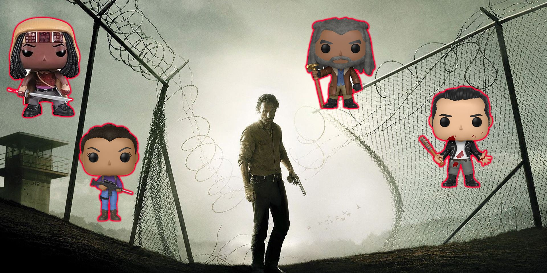 68aec166 10 Best Walking Dead Funko Pops, Ranked | ScreenRant