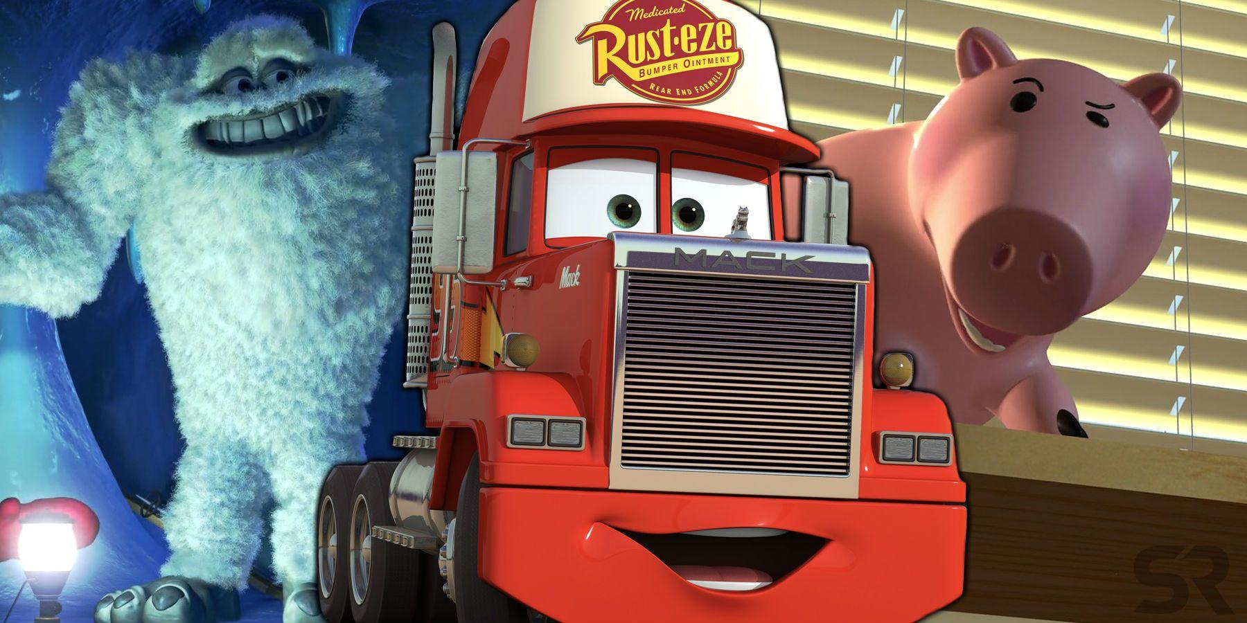 Every Pixar Movie Role John Ratzenberger Has Played Screen Rant