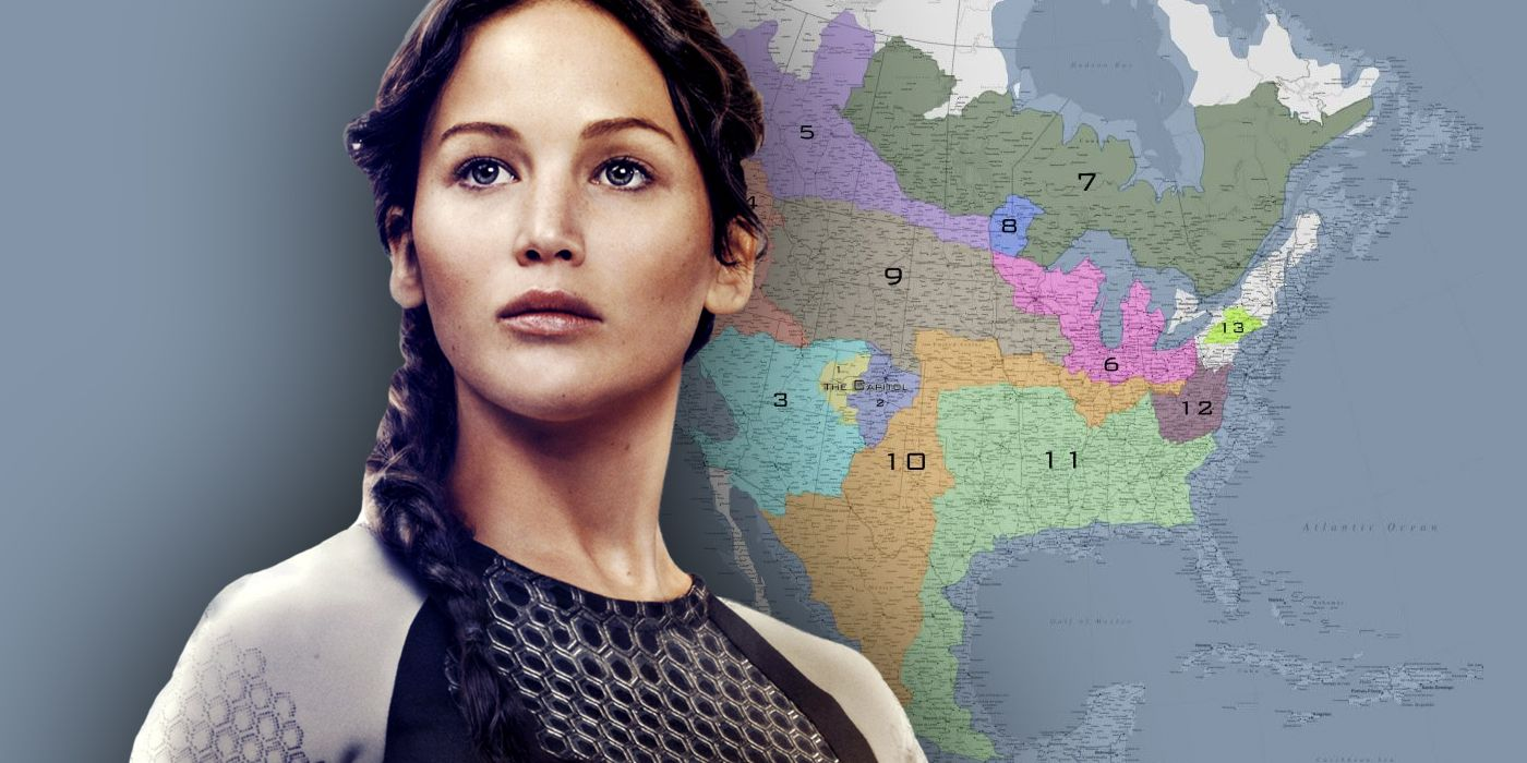 Hunger Games Panem Map Guide: Every Location Explained