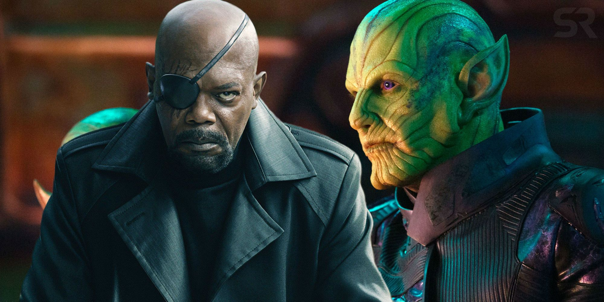 Nick Fury replaced by Skrull Talos