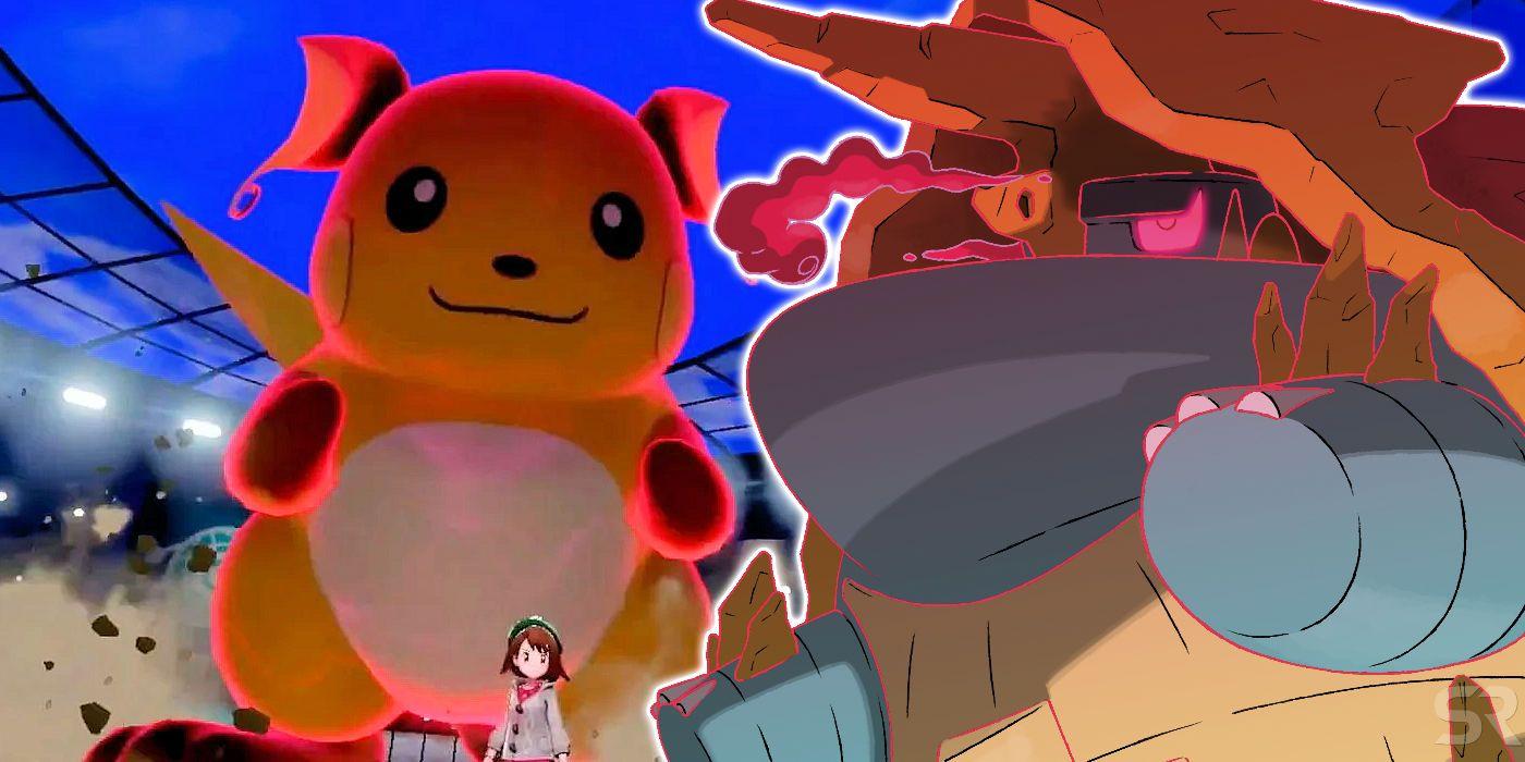 Pokémon Sword & Shield: Dynamax & Gigantamax Differences Explained