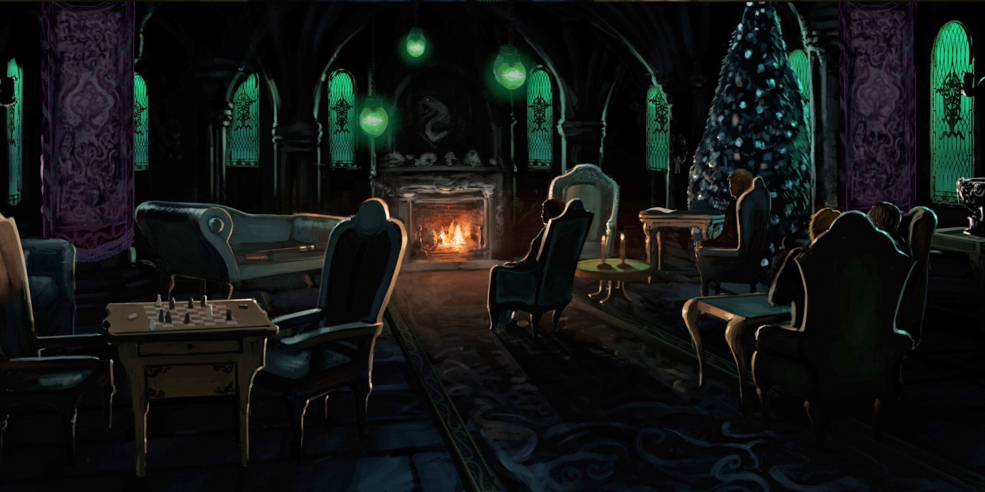 10 Secrets About The Slytherin Common Room Screenrant