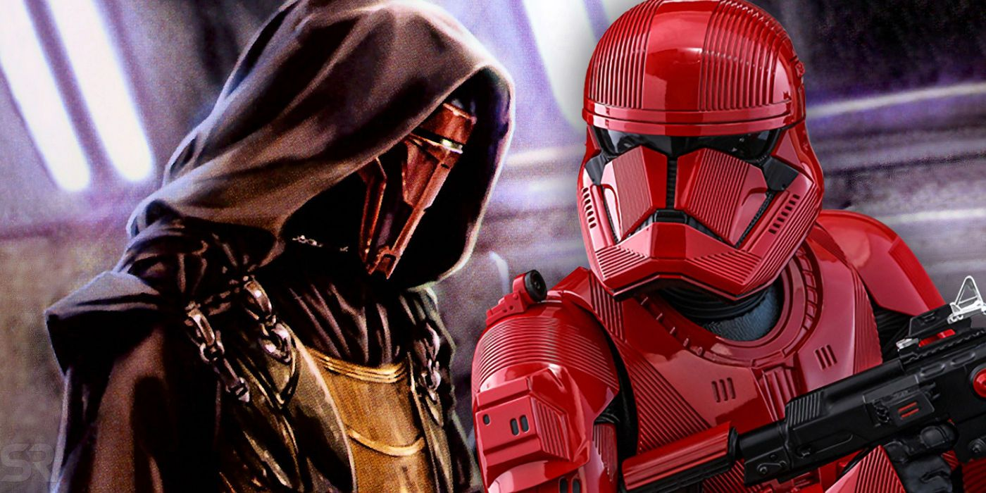 Star Wars 9 Theory: The Sith Troopers Are Revan's KOTOR Army