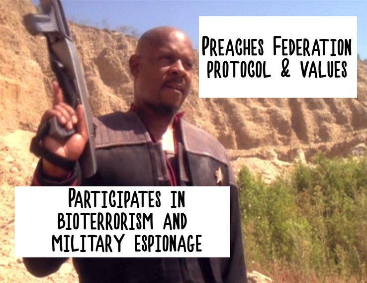 Star Trek: 10 Hysterical DS9 Logic Memes Only True Fans
