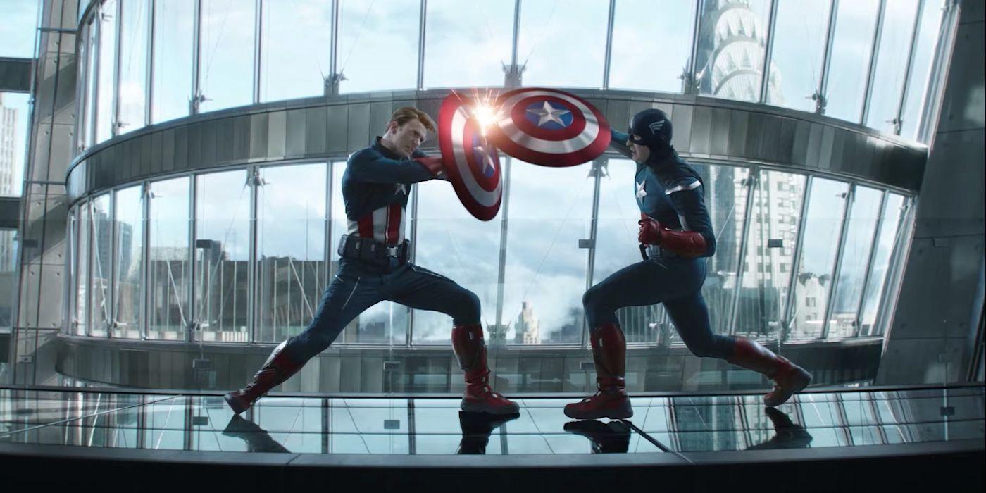 Why 2012 Captain America's Helmet Was CGI In Avengers: Endgame