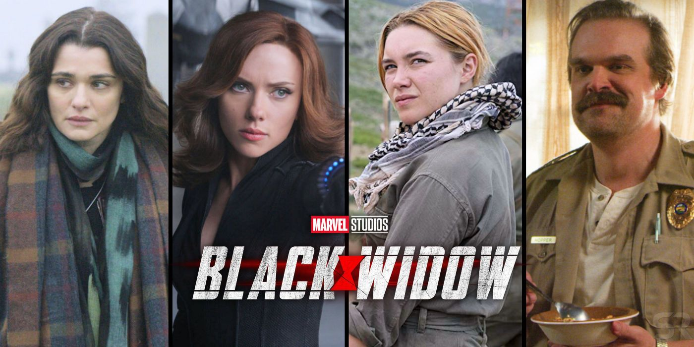 Black Widow Movie Cast & Character Guide   Screen Rant