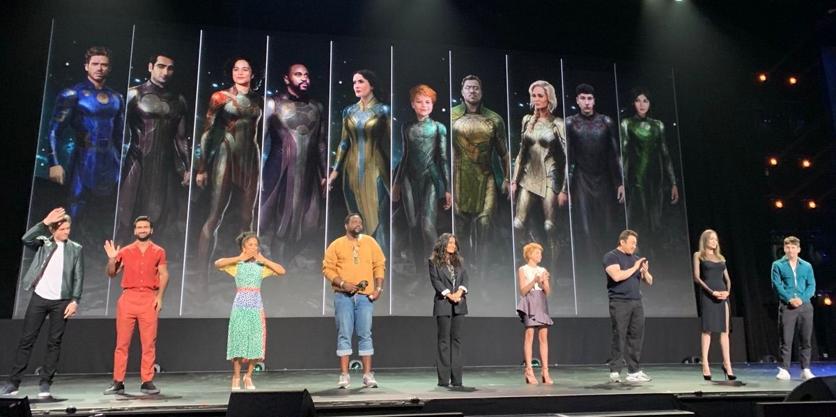 All Of Marvel's Eternals Character Designs Revealed In Concept Art
