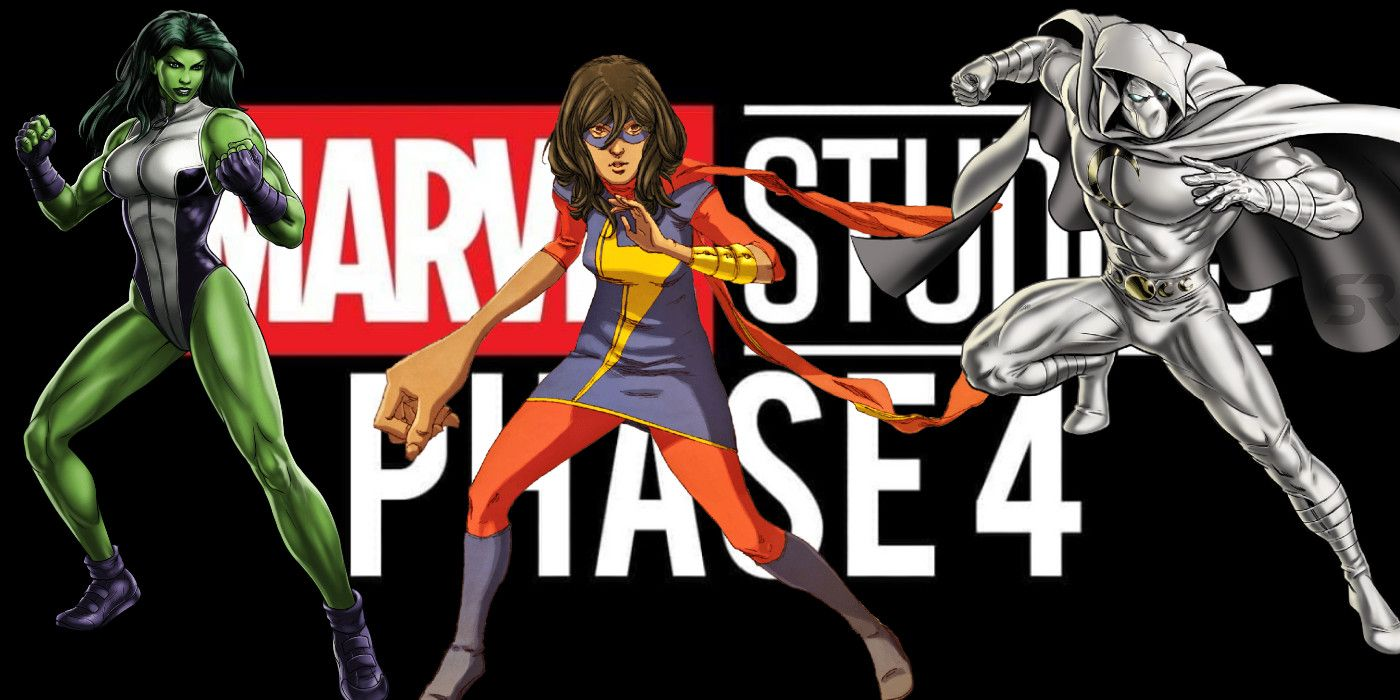 Ms. Marvel, Moon Knight & She-Hulk Disney+ Shows Are in MCU Phase 4