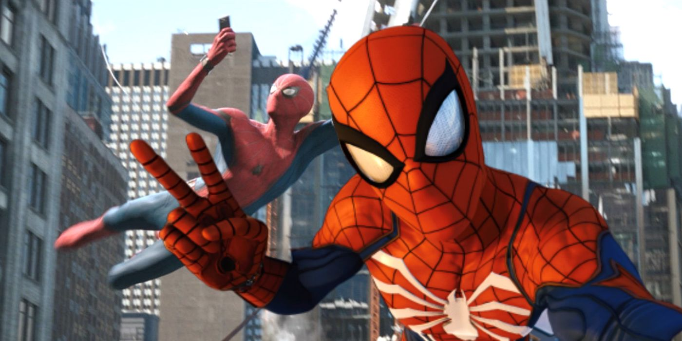 Far From Home Has The Perfect Spider-Man PS4 Game Easter Egg