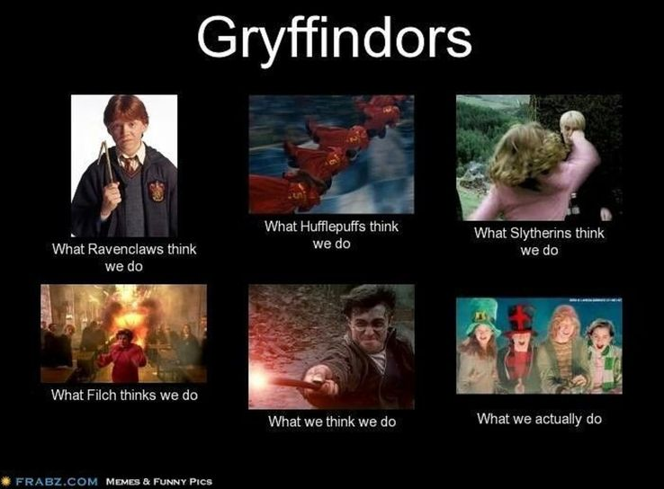 Harry Potter: 10 Hilarious Gryffindor Logic Memes That Are