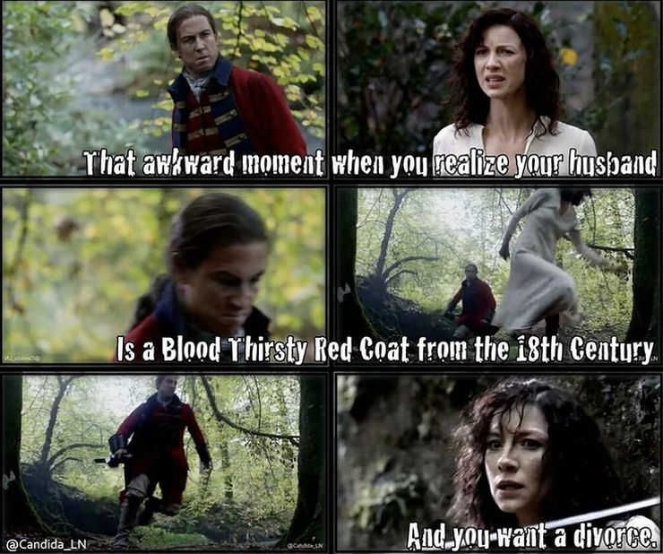 Outlander 10 Hilarious Season 1 Memes Only A Sassenach Would Get