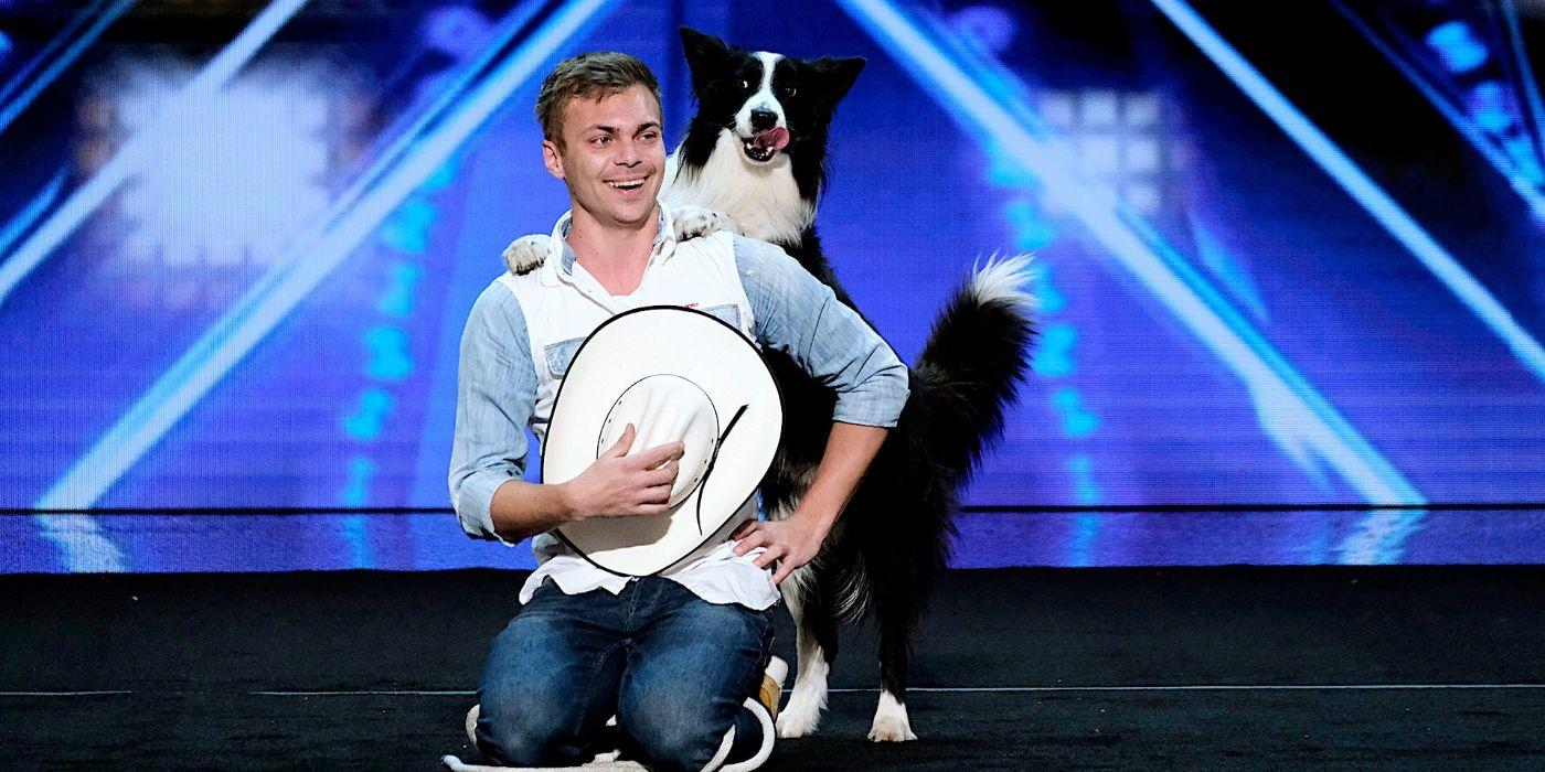 America's Got Talent: Lukas & Dog Falco's 'Emotional' Return