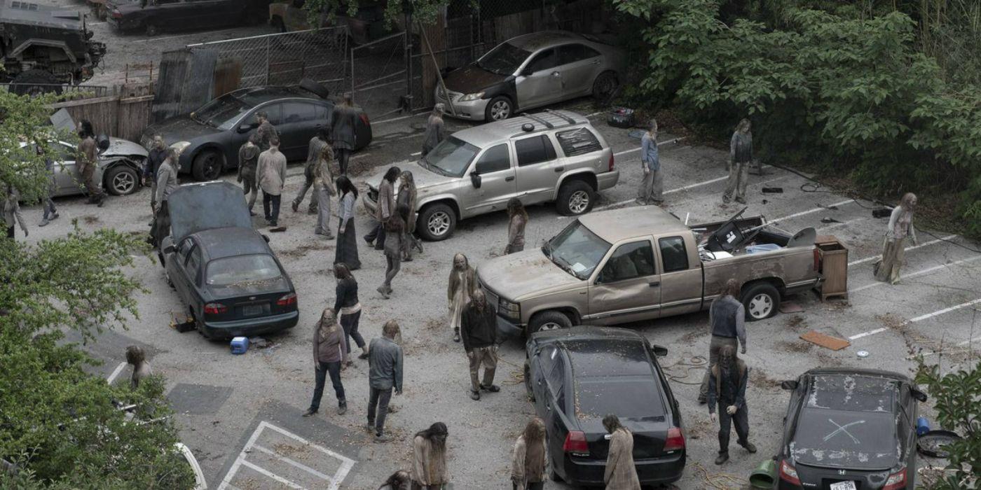 """Résultat de recherche d'images pour """"zombie parking walking dead"""""""