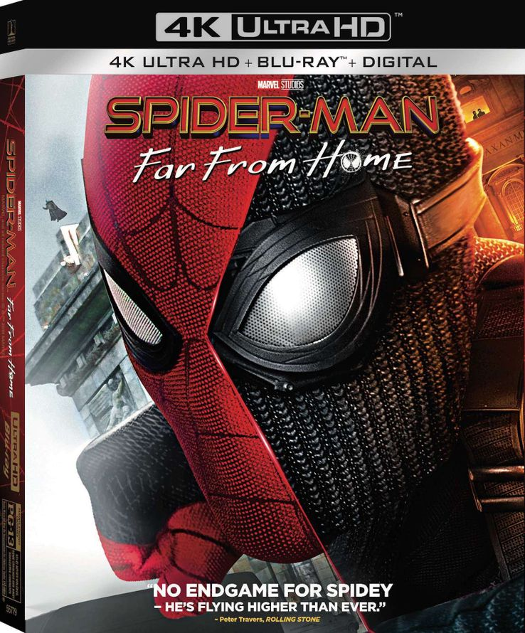 Spider-Man: Far From Home Blu-ray Markets Itself With