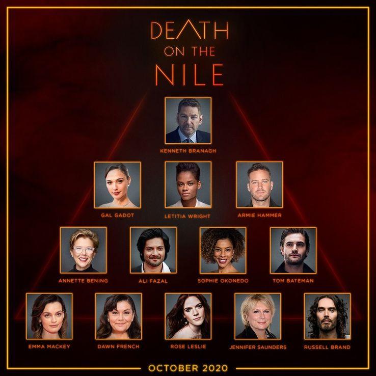 Morte no Nilo | Revelado elenco e início da produção
