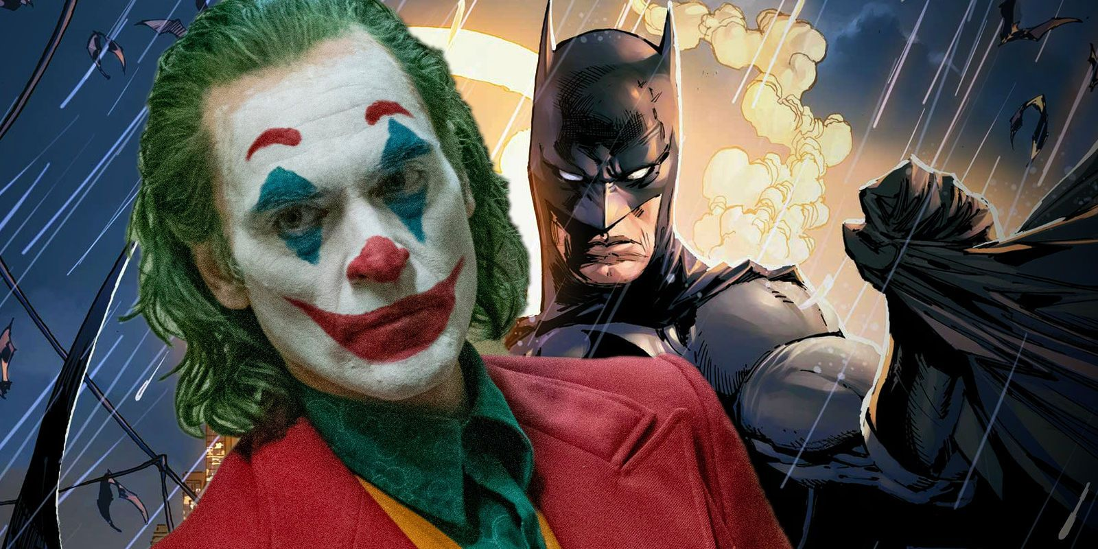 Joker Theory Batman Already Exists In The Movie Screen Rant