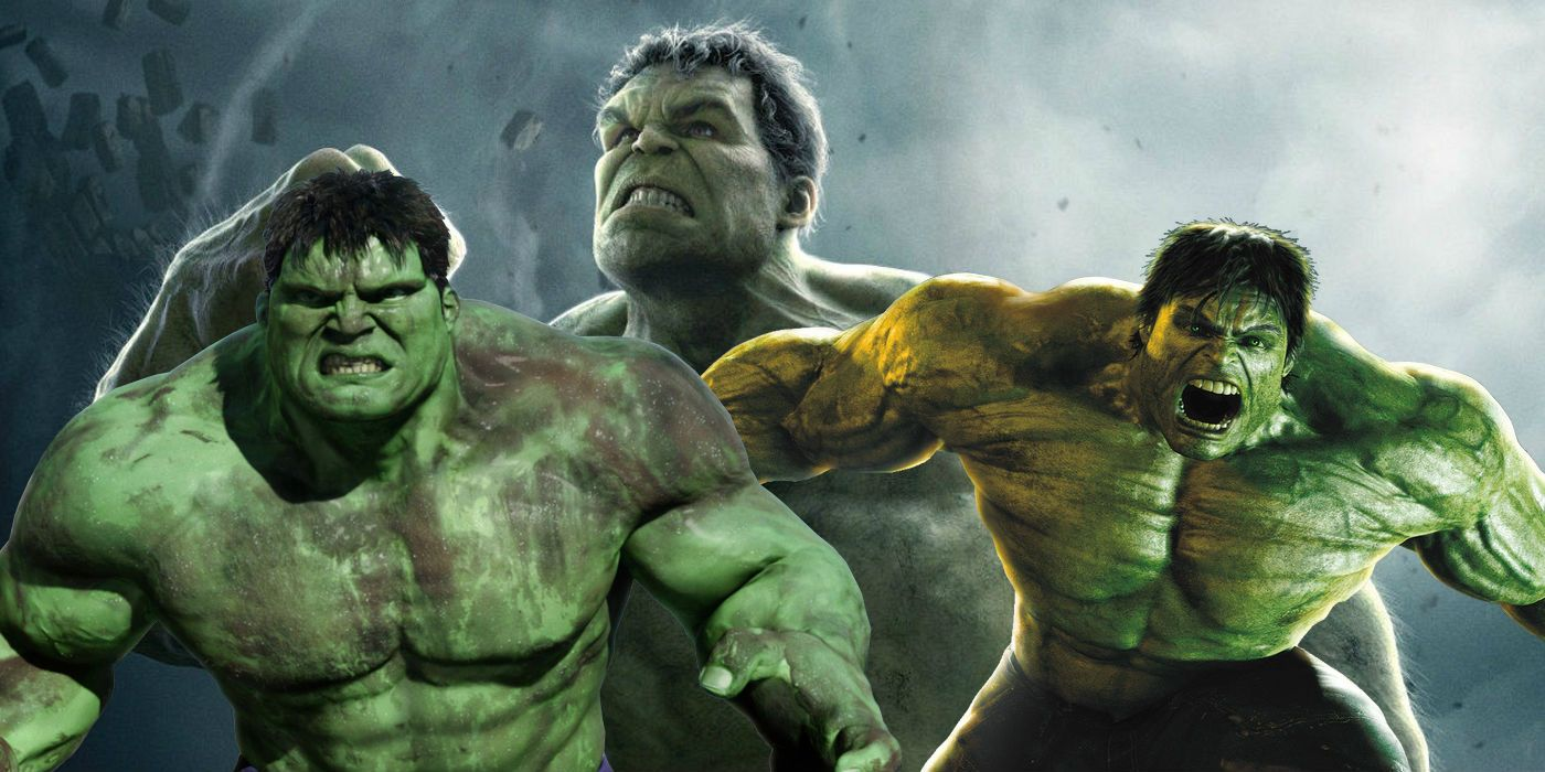 This is a graphic of Decisive Images of the Hulk
