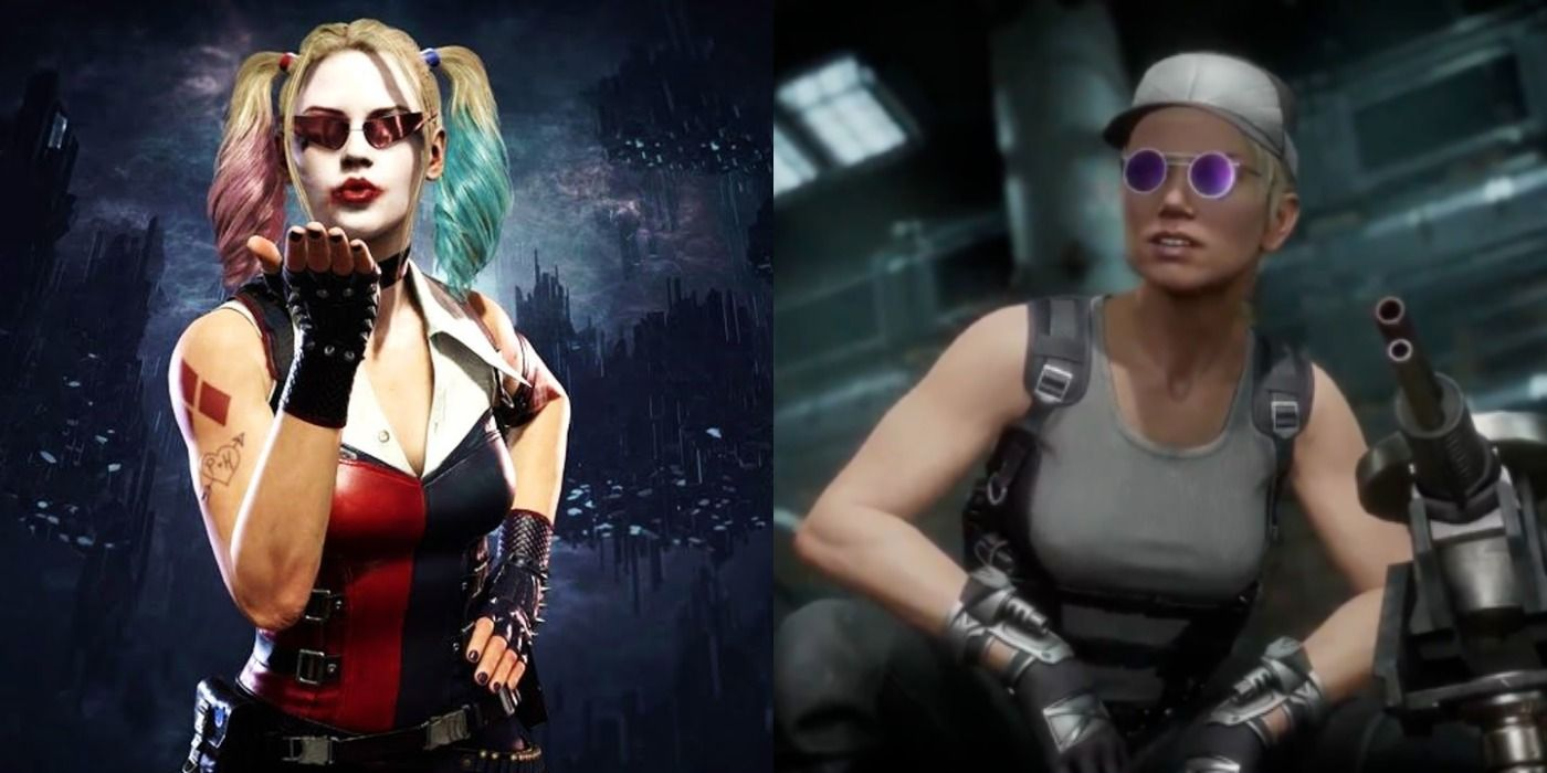 Mortal Kombat 11 Harley Quinn Sarah Connor Added As Costumes