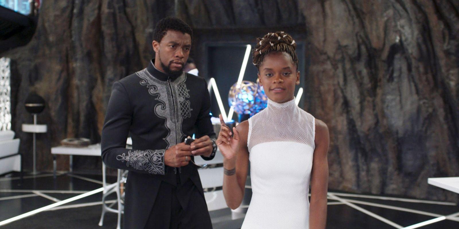 Black Panther 2 Without Chadwick Boseman Would Be Strange Says Letitia Wright
