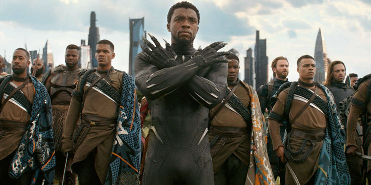 Avengers Infinity War Chadwick Boseman
