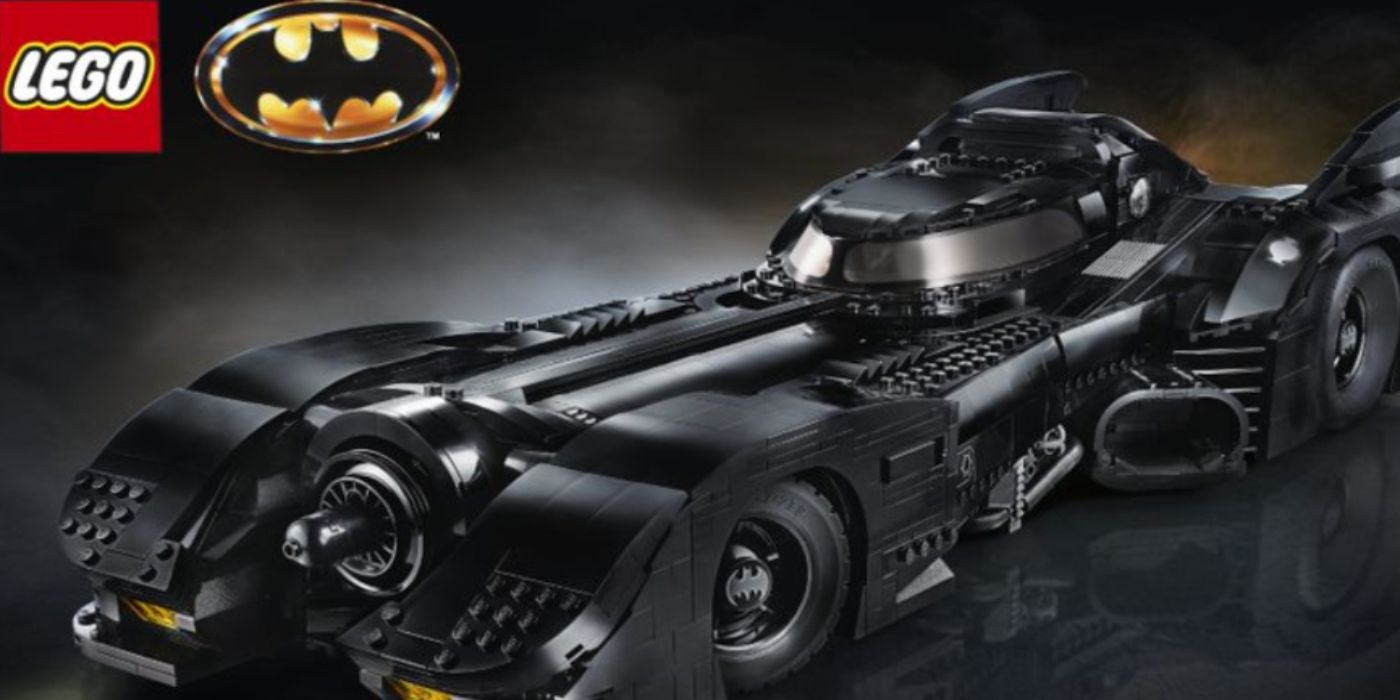 LEGO Has Made The Ultimate Tim Burton Batmobile - Here's How