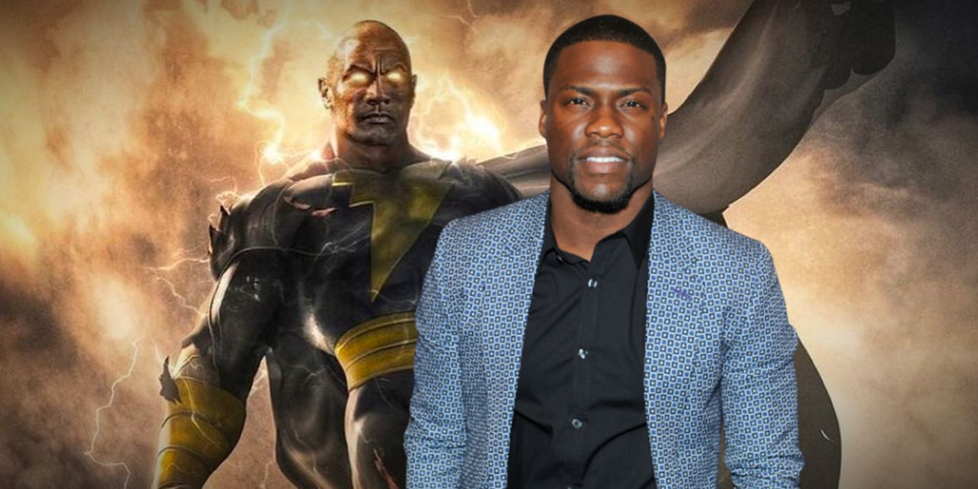 Black Adam Kevin Hart Wants To Be In Dwayne Johnson S Dc Movie