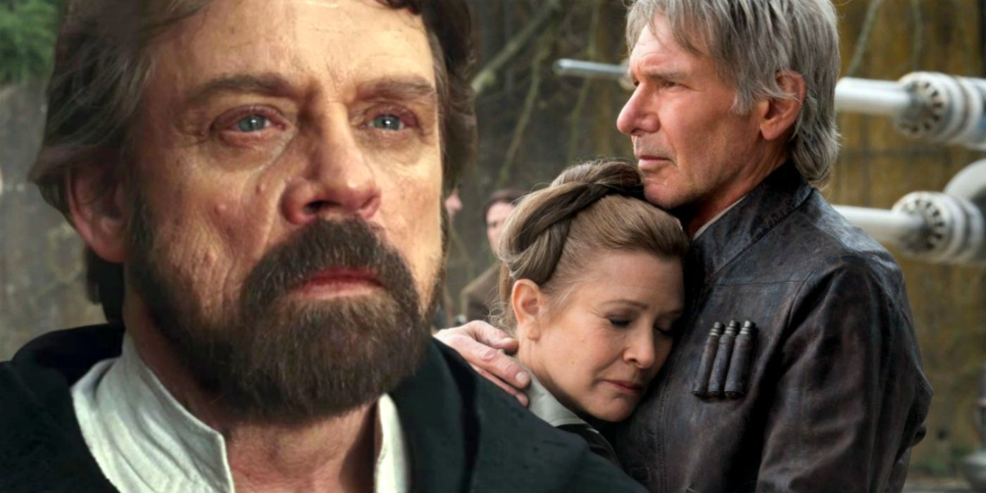 Star Wars Hints Luke Lied To Han & Leia About Kylo Ren