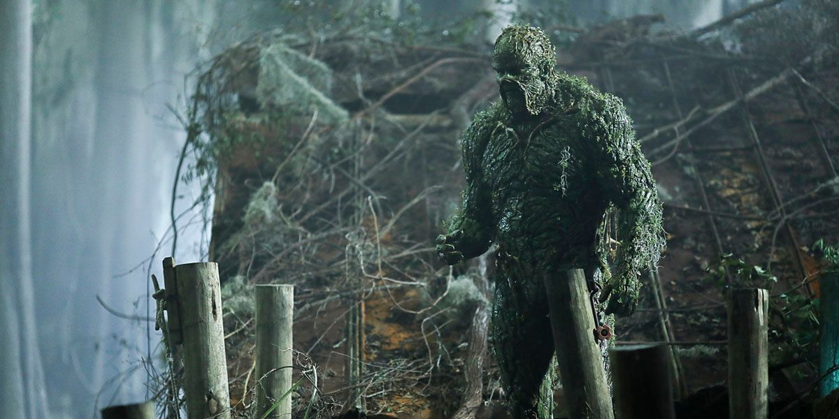 DC Universe's Swamp Thing Will Air On The CW This Summer