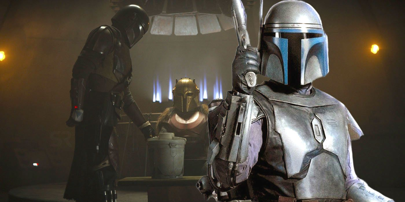 the mandalorian uses a jango fett weapon the movies forgot. Black Bedroom Furniture Sets. Home Design Ideas