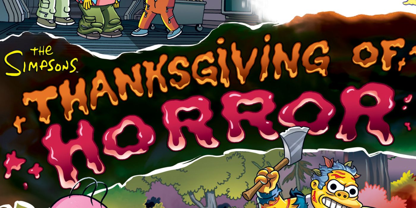 The Simpsons First Thanksgiving Of Horror Special Coming Sunday