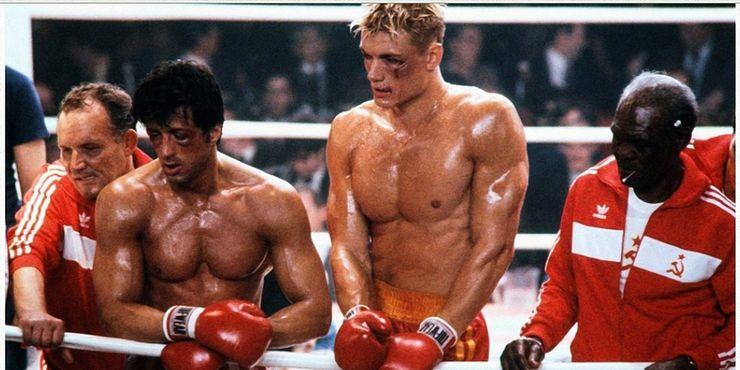 Rocky IV's Dolph Lundgren Hit Stallone So Hard He Sent Him To The Hospital