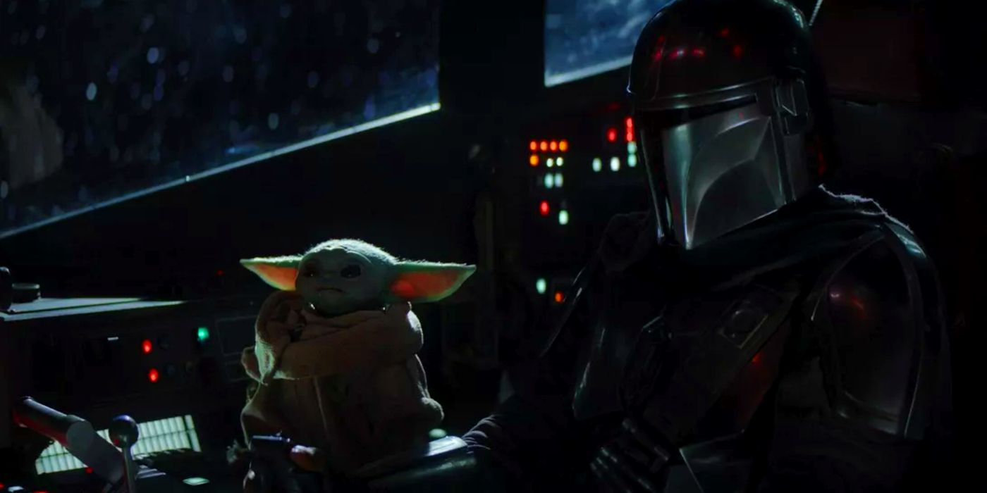 the mandalorian baby yoda wants the aux cord in new meme. Black Bedroom Furniture Sets. Home Design Ideas