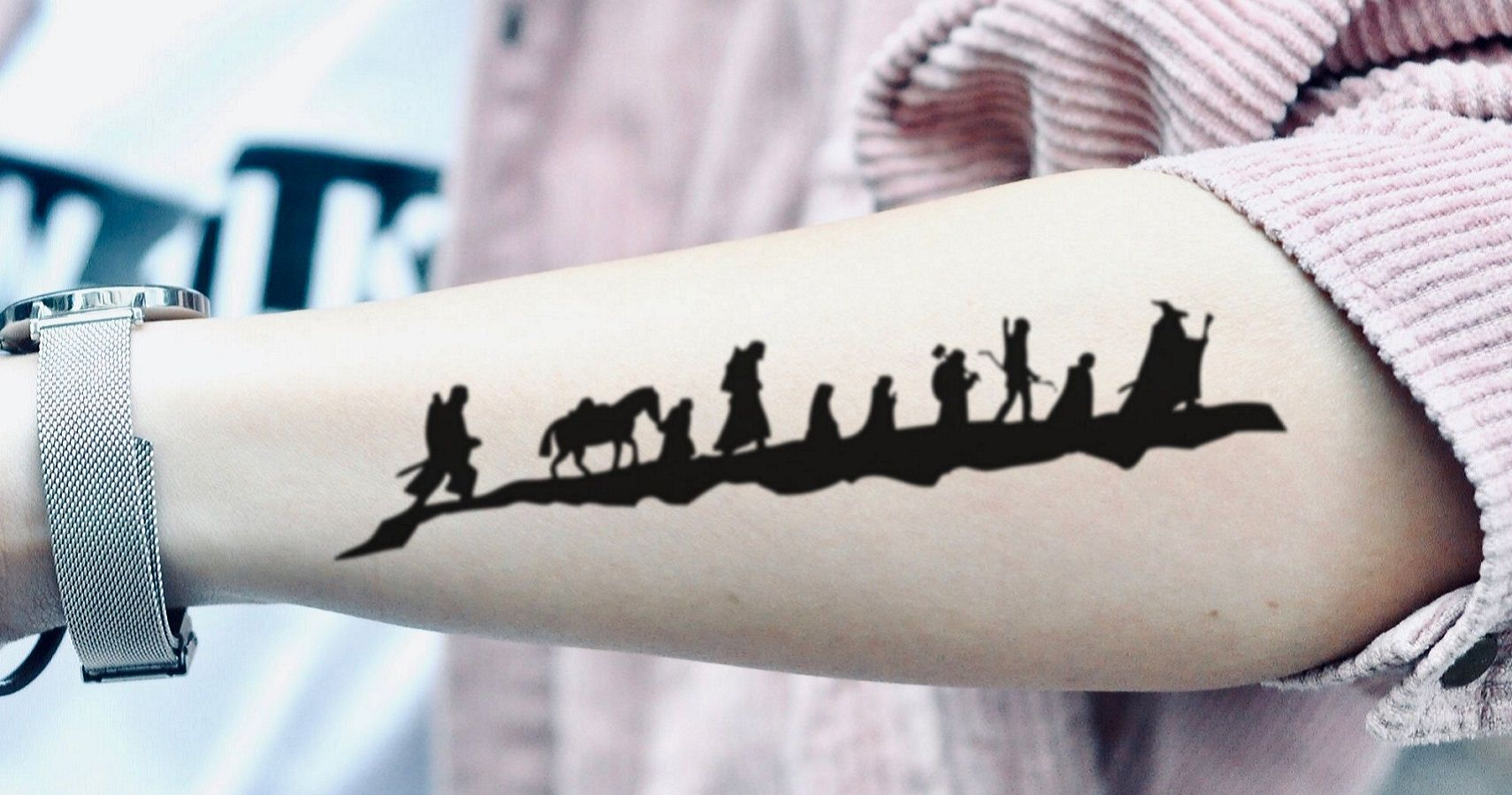 10 The Lord Of The Rings Tattoos Only True Fans Will Understand