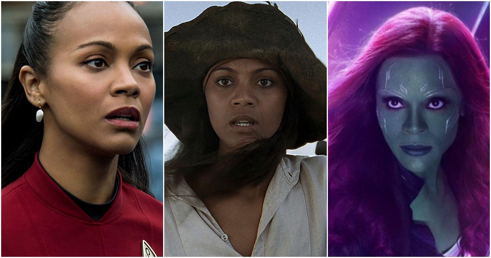 Zoe Saldana S 5 Best 5 Worst Movies According To Imdb