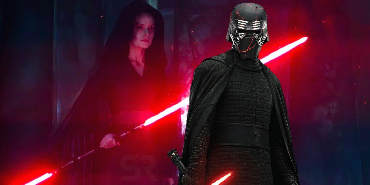 Star Wars The Rise Of Skywalker Teases Dark Rey Vs Kylo Ren Fight